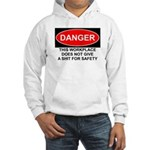 Danger Sign Hooded Sweatshirt