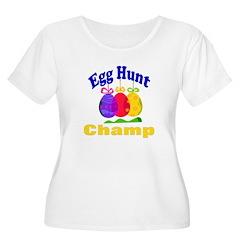 Egg Hunt Women's Plus Size Scoop Neck T-Shirt