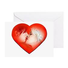 Lesbian Love Greeting Card