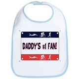 Daddy's #1 Fan Bib