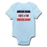 Dad's #1 Fan Infant Bodysuit