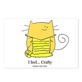 I feel... Crafty! Postcards (Package of 8)