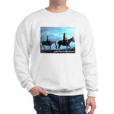 Trail Riding Mules Sweatshirt