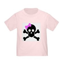 Unique Girly skull T