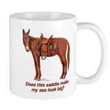 Ass Look Big Mule Small Mug