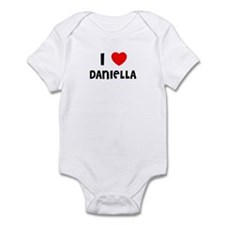 I LOVE DANIELLA Infant Creeper