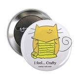 I feel... Crafty! Large Button