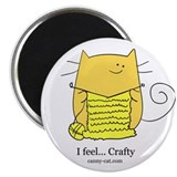 I feel... Crafty! Magnet