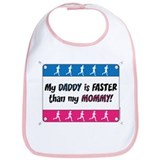 My Daddy is Faster - Running Bib