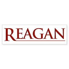 Reagan Bumper Bumper Sticker