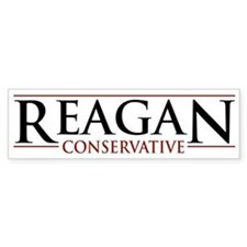 Reagan Conservative Bumper Bumper Sticker