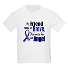 Angel 1 FRIEND (She) Colon Cancer T-Shirt