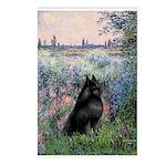 Seine / Schipperke Postcards (Package of 8)