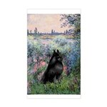 Seine / Schipperke Sticker (Rectangle)