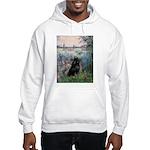 Seine / Schipperke Hooded Sweatshirt