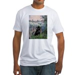 Seine / Schipperke Fitted T-Shirt