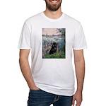 Seine / Schipperke Fitted T-Shirt