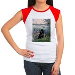 Seine / Schipperke Women's Cap Sleeve T-Shirt