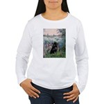 Seine / Schipperke Women's Long Sleeve T-Shirt