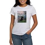 Seine / Schipperke Women's T-Shirt