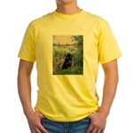 Seine / Schipperke Yellow T-Shirt