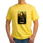 Mona / Schipperke Yellow T-Shirt