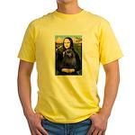 Mona / Schipperke Yellow T-Shirt
