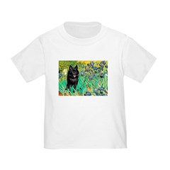 Irises / Schipperke #2 Toddler T-Shirt