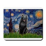 Starry / Schipperke #5 Mousepad