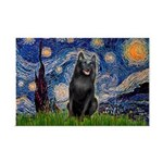 Starry / Schipperke #5 Mini Poster Print