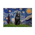 Starry / Schipperke #5 Mini Poster Print