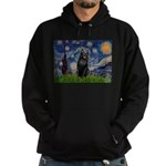 Starry / Schipperke #5 Hoodie (dark)