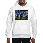 Starry / Schipperke #5 Hooded Sweatshirt