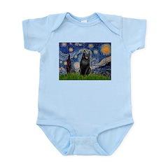 Starry / Schipperke #5 Infant Bodysuit