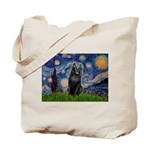 Starry / Schipperke #5 Tote Bag