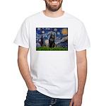 Starry / Schipperke #5 White T-Shirt