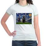 Starry / Schipperke #5 Jr. Ringer T-Shirt