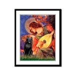 Mandolin / Schipperke #5 Framed Panel Print