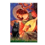 Mandolin / Schipperke #5 Postcards (Package of 8)