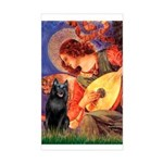Mandolin / Schipperke #5 Sticker (Rectangle)