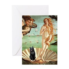 Venus / Schipperke #5 Greeting Card