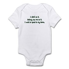 I Want to Speak to Mema Infant Bodysuit