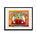 """MORRO BAY FIRE MUSTER"" Framed Panel Pri"