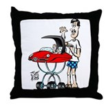 &quot;RUST &amp; WRINKLES&quot; Throw Pillow