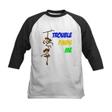 """Trouble finds me"" Tee"