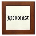Hedonist Framed Tile