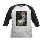 Ophelia / Schipperke #4 Kids Baseball Jersey