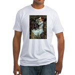 Ophelia / Schipperke #4 Fitted T-Shirt