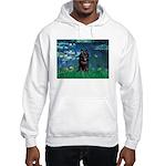 Lilies / Schipperke #4 Hooded Sweatshirt