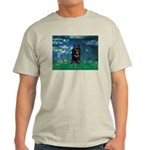 Lilies / Schipperke #4 Light T-Shirt